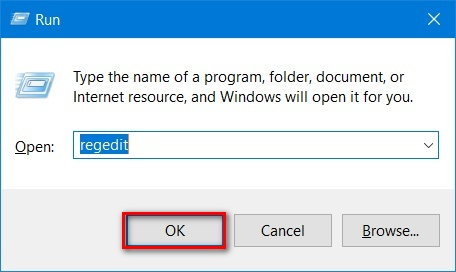 How to create Registry Editor on Windows 10?