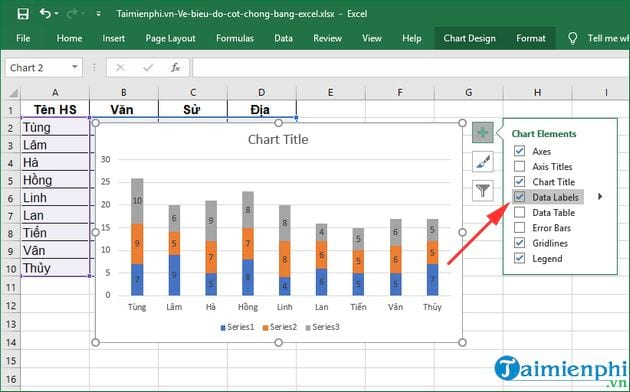 how to show excel by excel 6