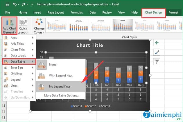 how to show excel by excel 9