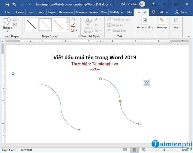 how to write ten letters in word 2019 18