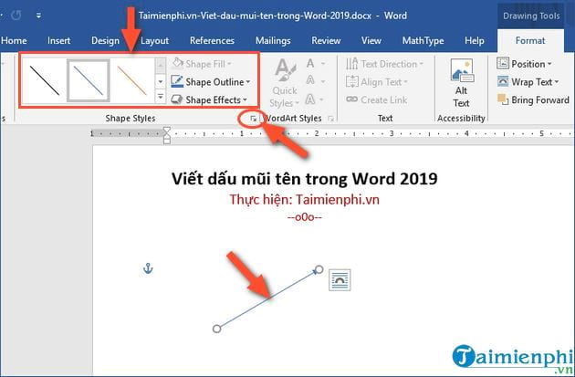 how to write ten letters in word 2019 10