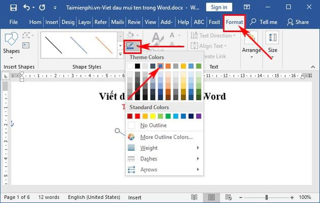 how to write the first name in word 10