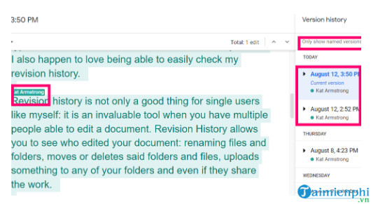 how to view document history on google docs 3