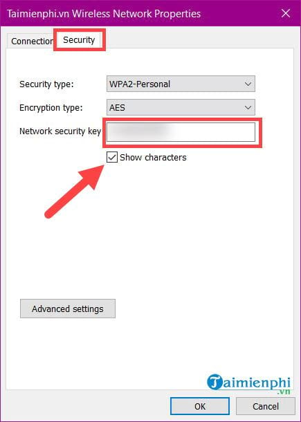 how to view wifi password connection