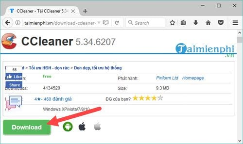 how to see ccleaner version 4