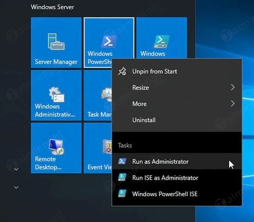 how to clean the password on Windows server 2016 10