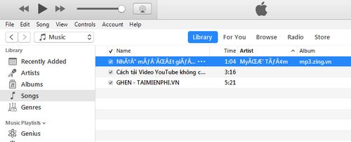 how to delete songs in itunes library 6