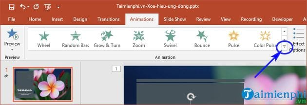 How to remove powerpoint on powerpoint 4