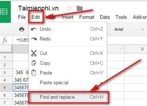 How to delete page space in google sheets 5
