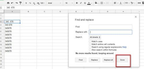 How to delete page space in google sheets 7