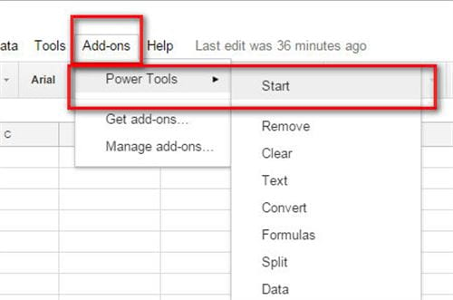 How to delete page space in google sheets 9
