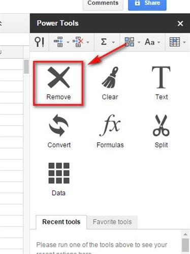 how to delete page space in google sheets 10