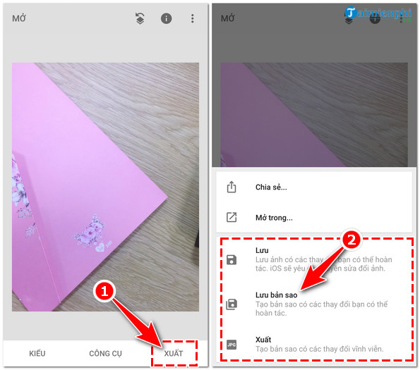 How to remove logo faceu on your photo 5