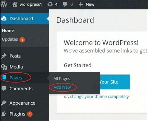 How to publish page in wordpress 2