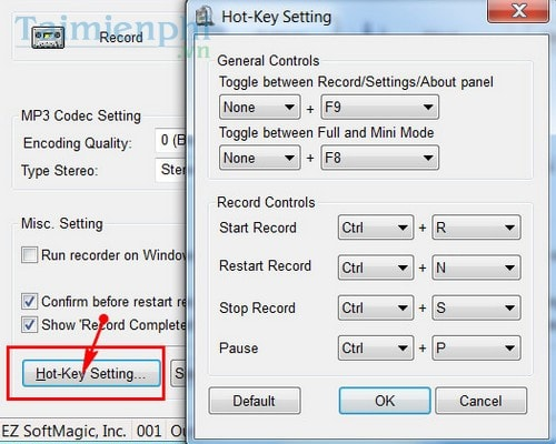 Record on your computer audio recorder
