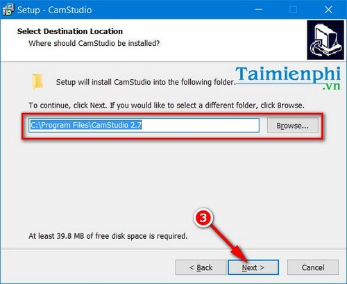 how to install camstudio