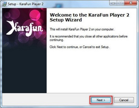 Install and use the karafun player