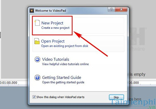 Install the Videopad Editor