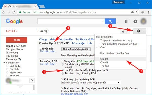 Install gmail into outlook 2013 with imap 2