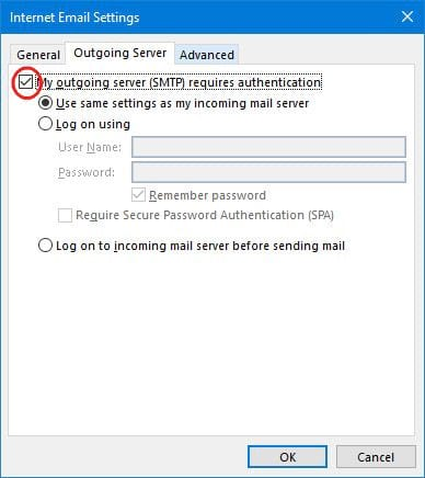Install gmail into outlook 2013 with imap 8