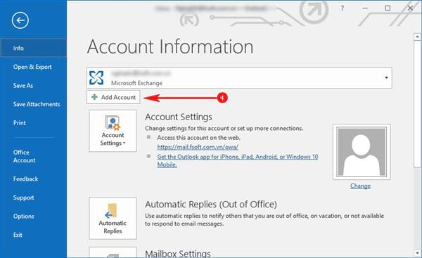 Install gmail into outlook 2016 with imap 4