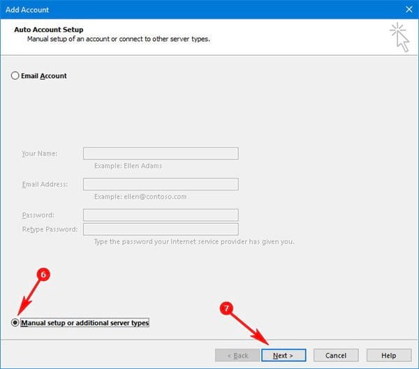 Install gmail into outlook 2016 with imap 5