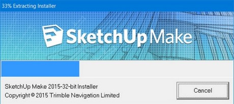 set up sketchup on the computer