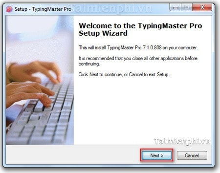 Install and use TypingMaster Pro