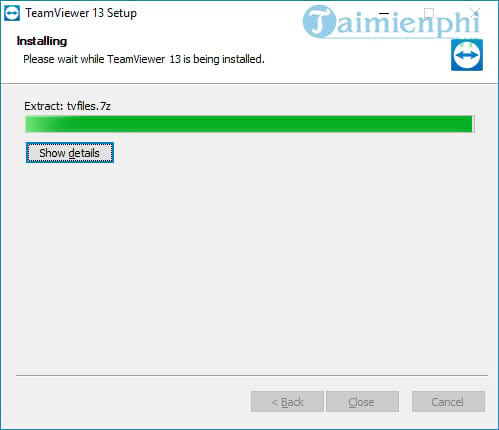 set and use teamviewer