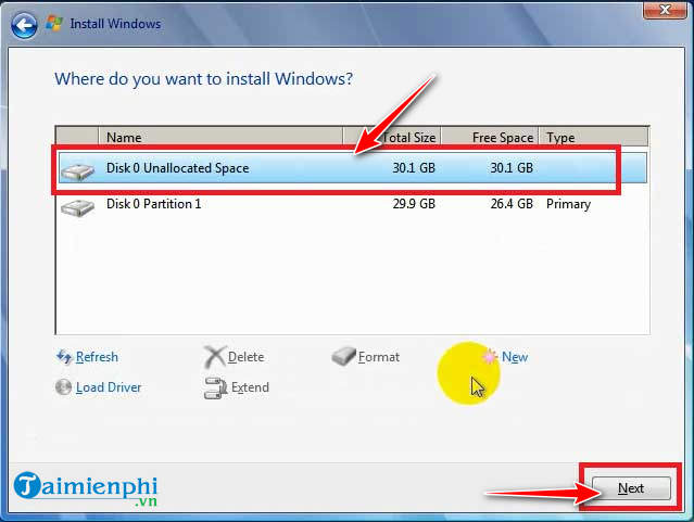 How to install Windows without using a disk