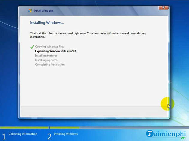 Install Windows 7 for your HP Quickly