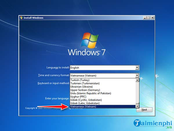 The Windows 7 installation is time consuming and fast