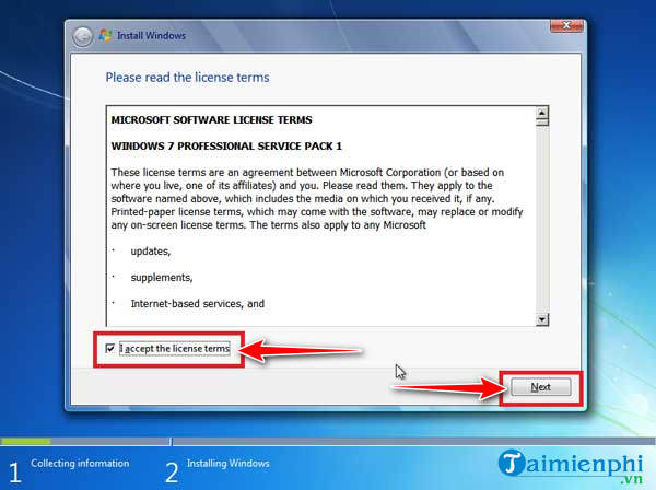 Install Windows 7 on your computer