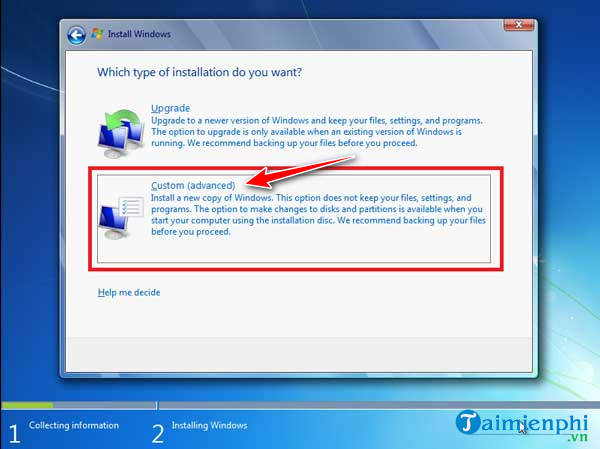 Install Windows 7 on your Dell state using USB