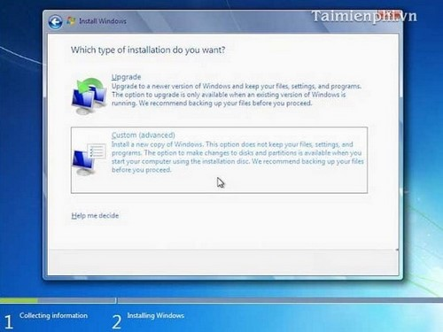 Install Windows 7 with DVD Player