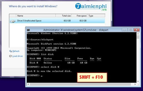 Windows 10 how to install Windows 10 can be installed on driver 0 partition 1 3