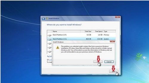 how to install windows 7 from hdd, install windows 7 for the computer