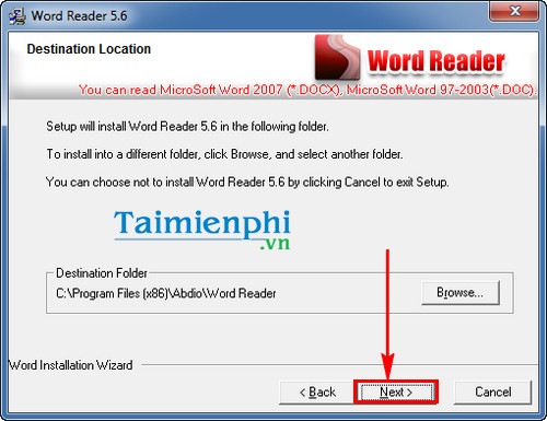how to install word reader doc file word doc docx txt de dang
