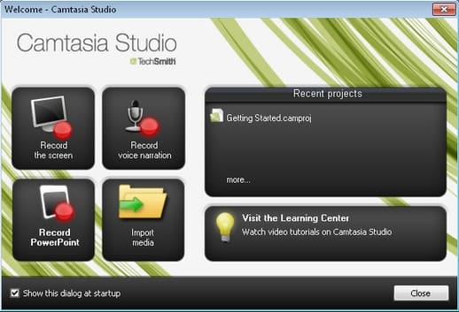 Edit video with Camtasia Studio