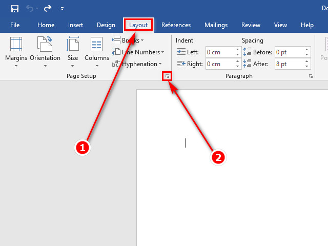 Can le in word 2019 4