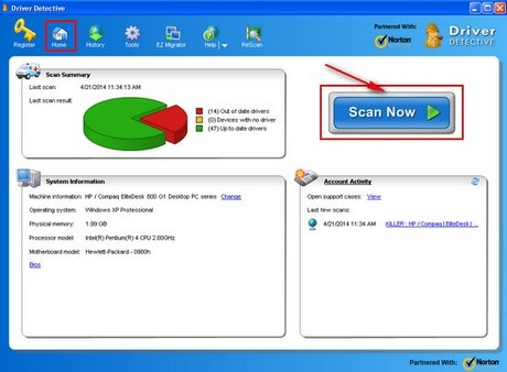 Install driver driver state driver detective