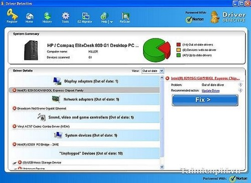 update driver for computer detective state driver