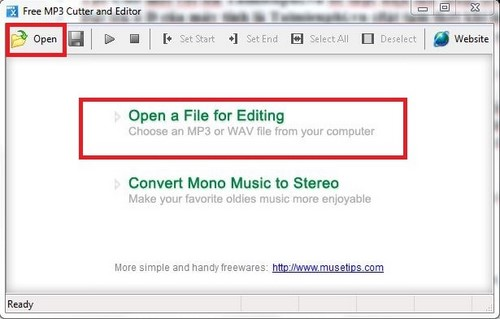 Cut MP3 music with Free MP3 Cutter and Editor
