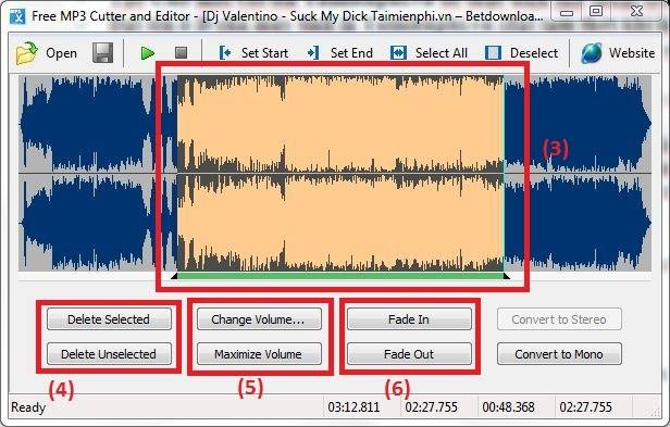 MP3 music with Free MP3 Cutter and Editor
