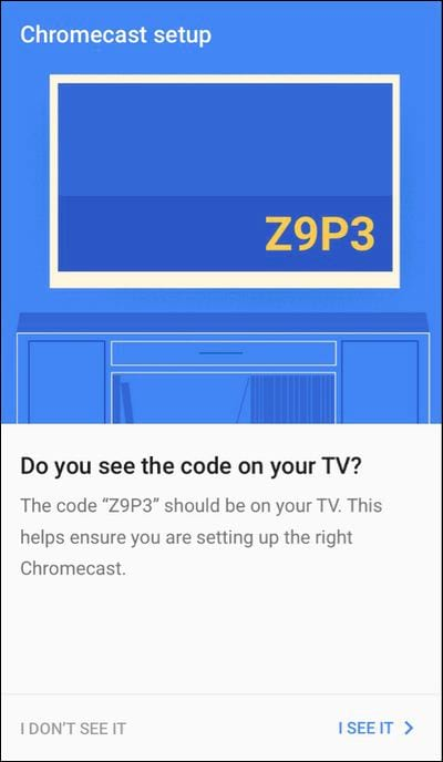 What is chromecast connection with chromecast with tv 5