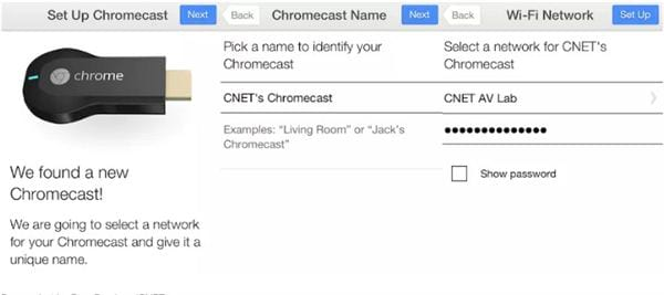 What is chromecast connection with chromecast with tv 6