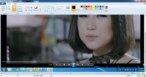 Take pictures when watching videos on windows media player 6