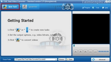 Guide video bang with total video converter