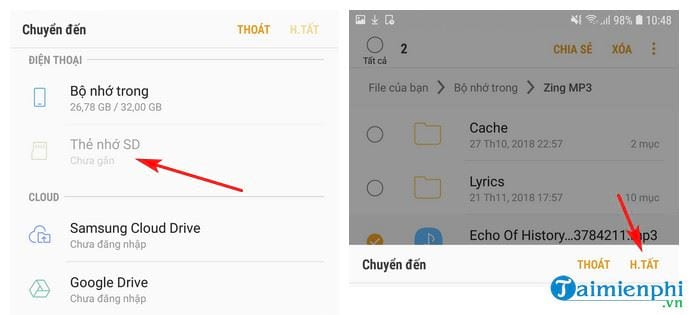 convert mp3 music to mp3 on Android