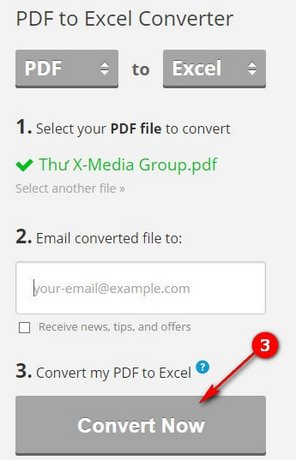 How to convert pdf to excel convert pdf files to xls